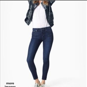 Joe's Jeans Skinny Dark Wash Chelsea Jeans SZ 25